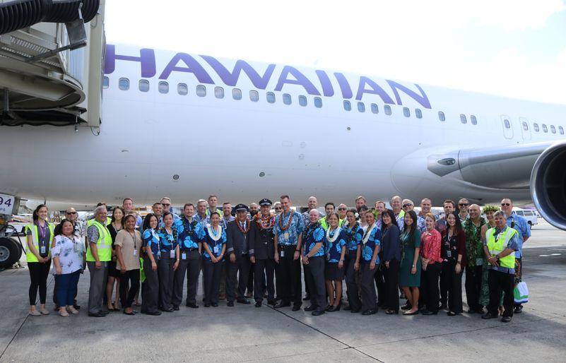 último vuelo de Boeing 767 + jubilación