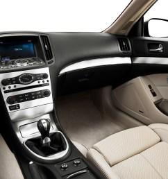 2013 infiniti g37 coupe 2 door ipl rwd center console passenger side [ 1280 x 960 Pixel ]