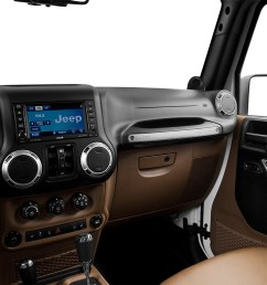 2015 jeep wrangler unlimited 4wd 4 door rubicon center console passenger side [ 1280 x 960 Pixel ]