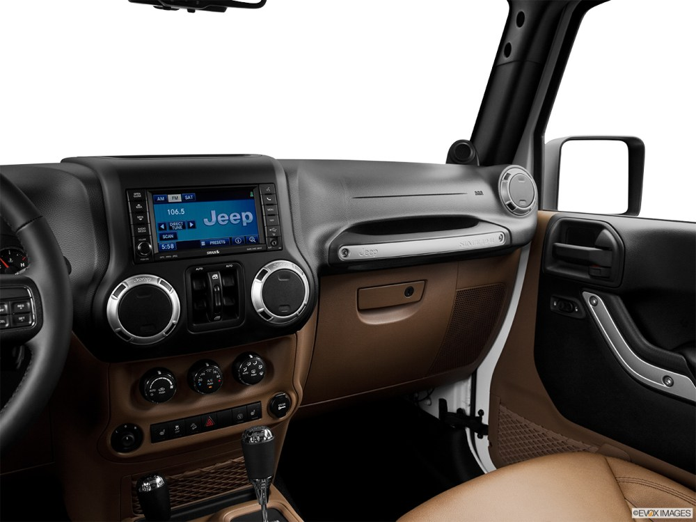 medium resolution of 2015 jeep wrangler unlimited 4wd 4 door rubicon center console passenger side