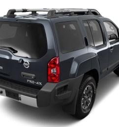 2015 nissan xterra 4wd 4 door auto pro 4x rear 3 4 angle [ 1280 x 960 Pixel ]