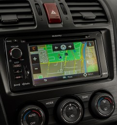 2015 subaru forester automatic 2 0xt touring driver position view of navigation system [ 1280 x 960 Pixel ]
