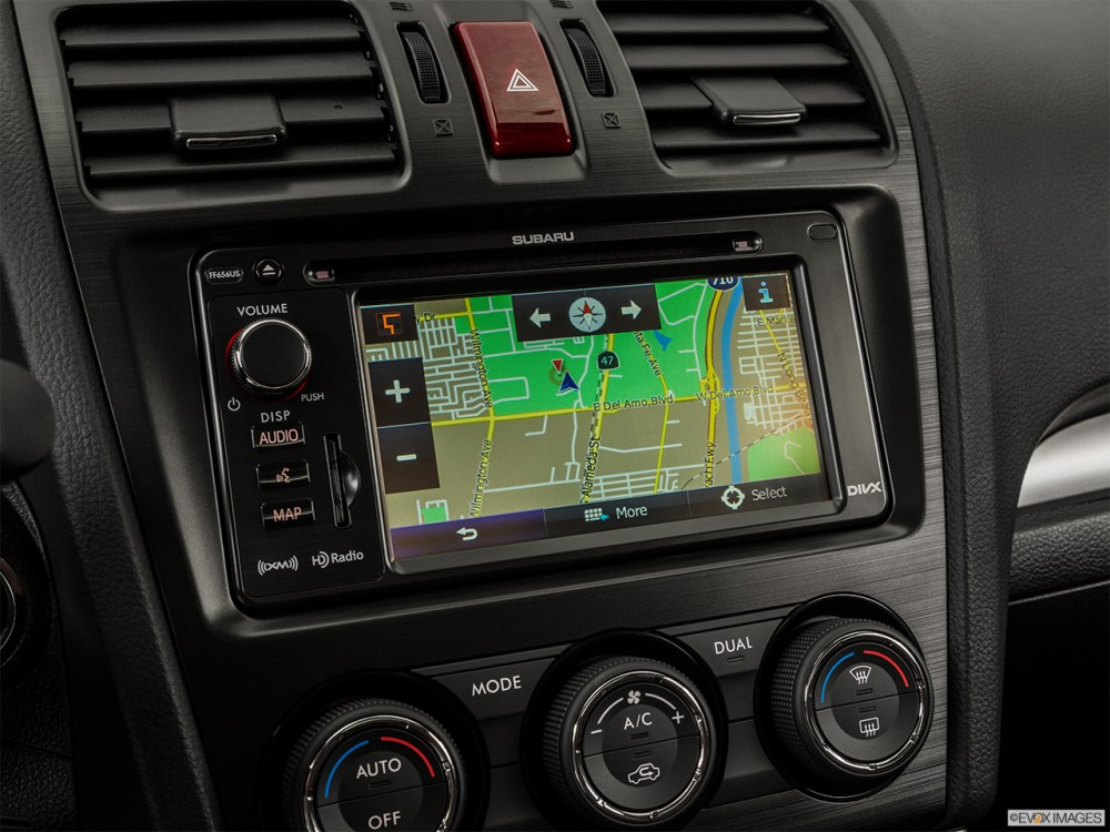 medium resolution of 2015 subaru forester automatic 2 0xt touring driver position view of navigation system
