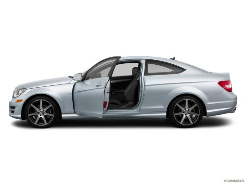 small resolution of 2015 mercedes benz c class coupe c250 rwd driver s side profile with drivers