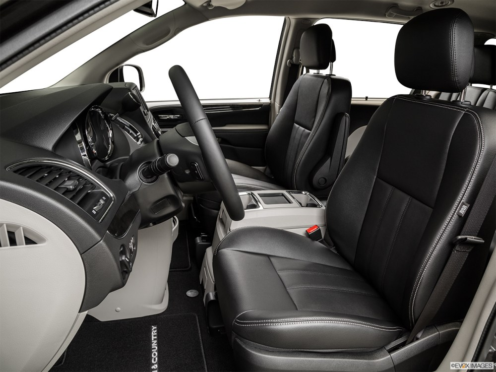 medium resolution of 2015 chrysler town country 4 door touring wagon front seats from drivers side