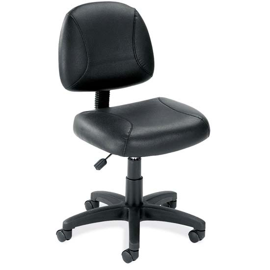 posture deluxe chair fold up wheelchair black leather armless with frame