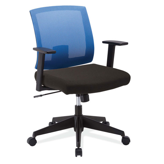 chair with arms wide rocking mesh back task and black frame officesource furniture