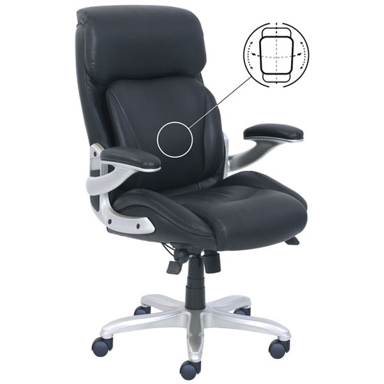 posture executive leather chair hammock stand used high back with silver frame jmjs inc dba coe sku 49332