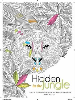 Hidden in the Jungle adult coloring book review