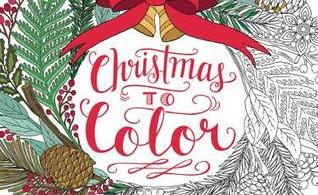 Christmas to Color - Mary Tanana