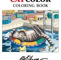 cat color coloring book