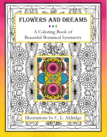 Flowers and Dreams Coloring Book