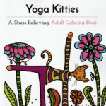 Yoga Kitties Adult Coloring Book
