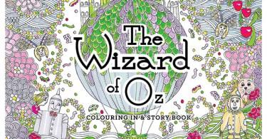 Wizard of Oz Colouring Book