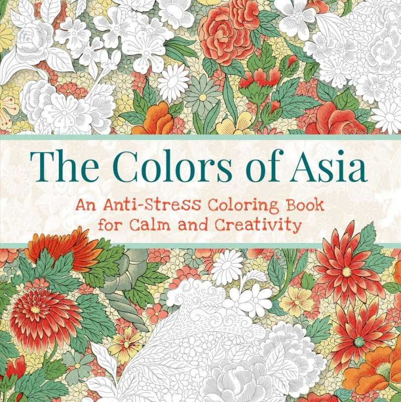 thecolorsofasia - The Colors of Asia Coloring Book Review