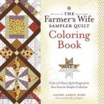 TheFarmersWifeSamplerQuilt - Mexican Folk Art - Adult Coloring Book