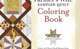 TheFarmersWifeSamplerQuilt - Campervan Colouring - Freedom Collection Review