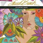 Theartoflaurelburch - Tangled Treasures Coloring Book  - Adult coloring Book