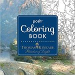 Thomas Kinkade Painter of Light ColoringBook - Flower Fairies Coloring Book Review