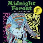 MidnightForest - Owls - Adult Coloring Book Review