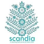 Scandia Colouring Book