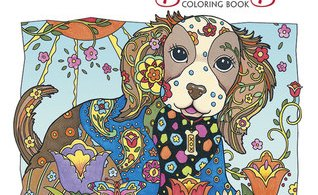 DazzlingDogs - The Magical Journey - A Colouring Book Review