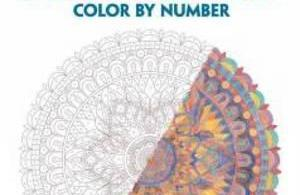 mandalascolorbynumber - Fanciful Faces - Coloring Book Review