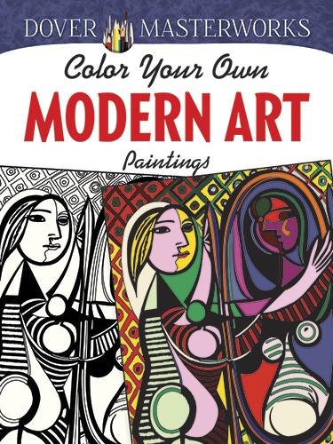 modernart - Color Your Own Modern Art Paintings