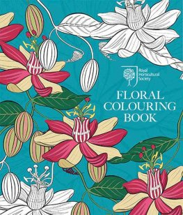 RHSFloralColoringBook - RHS Floral Colouring Book Review