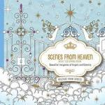 scenesfromheaven - Garden Tea Party - A Calming Coloring Book