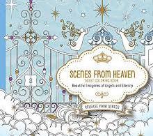 scenesfromheaven spirit fantasy coloring book review - Fantasy Coloring Book