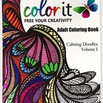 colorit calmingdoodles - Coloring Book for Adults - Amazing Swirls