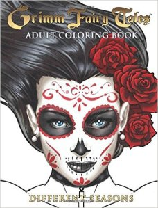 Grimm Fairy Tales – Adult Coloring Book – Different Seasons