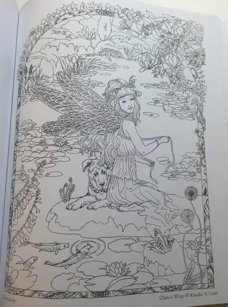 Myth Amp Magic An Enchanted Fantasy Coloring Book