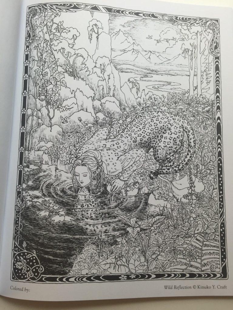 The magic coloring book trick - Myth U0026 Magic An Enchanted Fantasy Coloring Book Coloring Queen