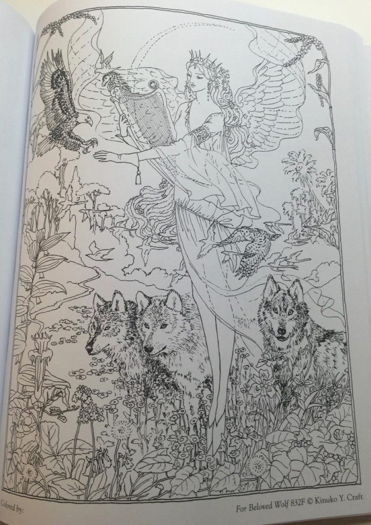 myth magic an enchanted fantasy coloring book - Fantasy Coloring Books