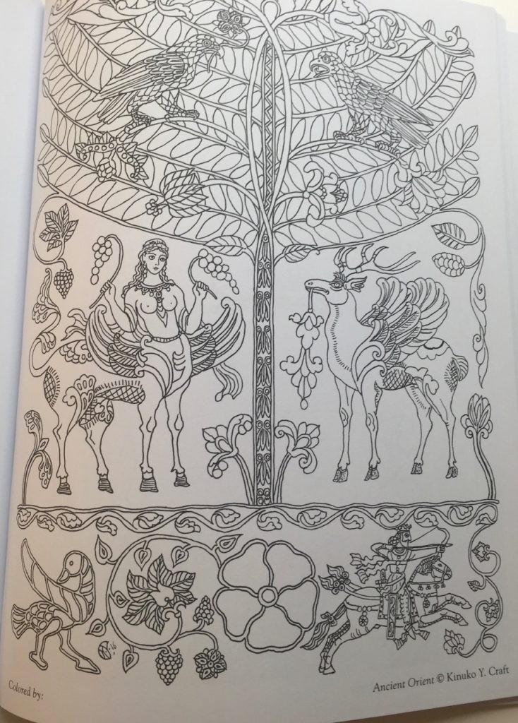 Myth Magic An Enchanted Fantasy Coloring Book
