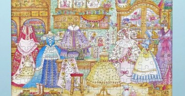 eriy romantic country jigsawpuzzle - Čarovne Lahodnosti (Magical Delights) Coloring Book