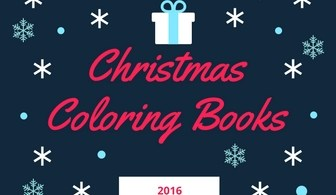 ChristmasHoliday Sale - Coloring Books New Releases - November - 2016