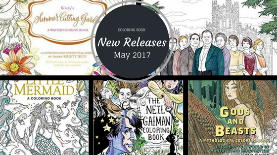 Coloring Book New Releases May 2017 - Coloring Books - New Releases - May 2017