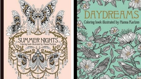 PSA Daydreams Amp Summer Nights Coloring Books Paper