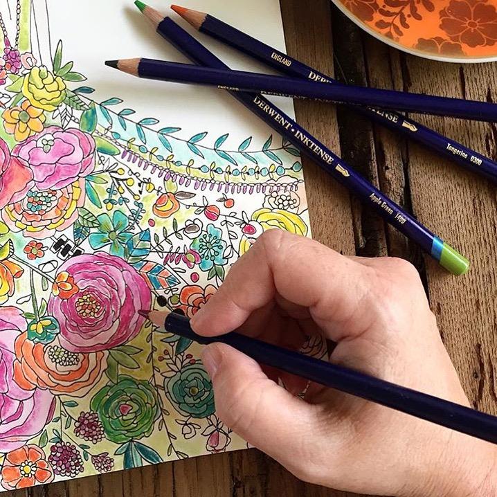 Dream Cities Coloring Book Review Bari J Ackerman Queen