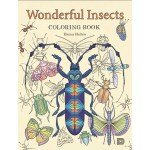 malarbok wonderful insects coloring book - Tidevarv Coloring Book Review