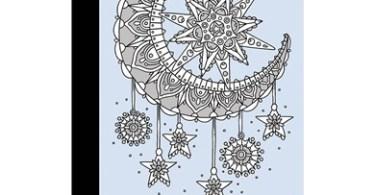 malarbok vinternatt   20 vykort att farglagga - Vinternatt (Winter Nights) Postcard Book