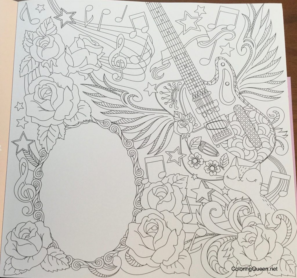 Hidden Natures Frame Fantasia A Colouring Book To Keep Your Favourite Moments