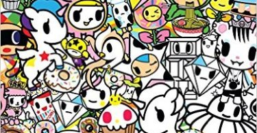 tokidoki - The Magical Guinea Pig Colouring Book Review
