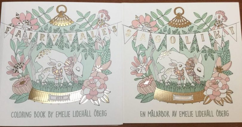 FullSizeRender 3 e1485496645449 1024x538 - Fairy Tales Coloring Book Review (published in Sweden as Sagolikt)