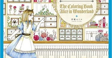 AliceInWonderland - Disney Girls Coloring Book With Little Friends