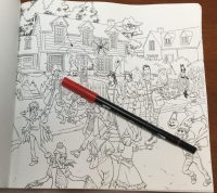 Buffy the Vampire Slayer Coloring Book | Coloring Queen