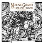 mouseguardcoloringbookcover - Drawing Around the World  Coloring Book Review
